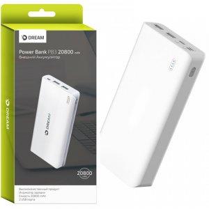 Внешний аккумулятор для телефона Power Bank Dream 20800 mAh