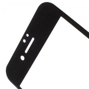 Закаленное 3D защитное стекло на весь экран с рамкой для iPhone 8 Plus / 7 Plus - Черный