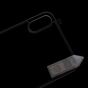 Закаленное защитное 3D стекло на заднюю панель для iPhone X