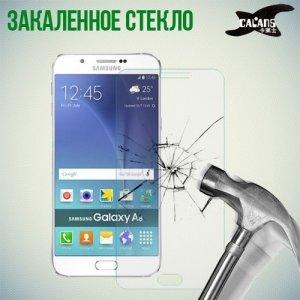 Закаленное защитное стекло для Samsung Galaxy A8 - CALANS