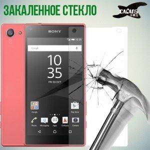 Закаленное защитное стекло для Sony Xperia Z5 Compact - Calans