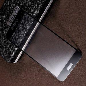 Закаленное защитное стекло для Huawei Honor 8 lite / P8 lite (2017) на весь экран - Черный