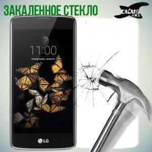 Закаленное защитное стекло для LG K8 K350E