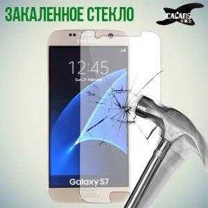 Закаленное защитное стекло для Samsung Galaxy S7