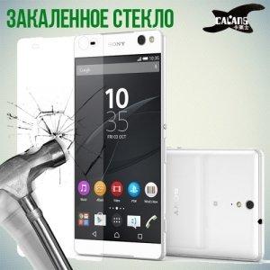 Закаленное защитное стекло для Sony Xperia C5 Ultra