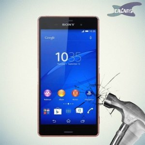 Закаленное защитное стекло для Sony Xperia Z3