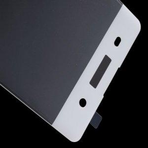 Закругленное 3D защитное стекло для Sony Xperia XA на весь экран - Белый