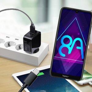 Зарядка для Honor 8A телефона 2.4А и USB кабель