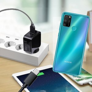 Зарядка для Huawei Honor 9A телефона 2.4А и USB кабель