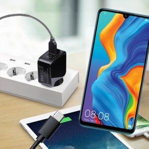 Зарядка для Huawei P30 Lite телефона 2.4А и USB кабель