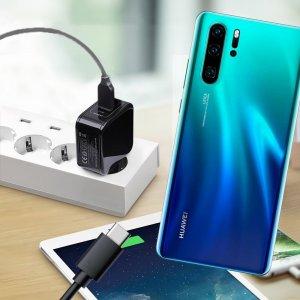 Зарядка для Huawei P30 Pro телефона 2.4А и USB кабель