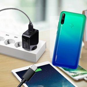 Зарядка для Huawei P40 lite E телефона 2.4А и USB кабель