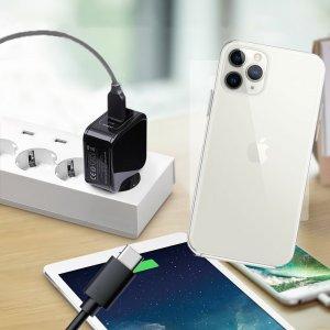 Зарядка для iPhone 11 Pro телефона 2.4А и USB кабель