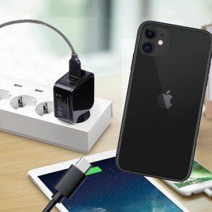 Зарядка для iPhone 11 телефона 2.4А и USB кабель