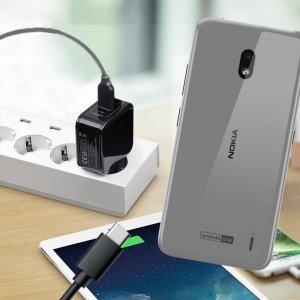 Зарядка для Nokia 2.2 телефона 2.4А и USB кабель