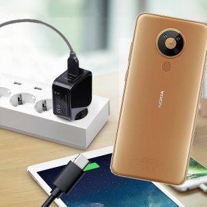 Зарядка для Nokia 5.3 телефона 2.4А и USB кабель