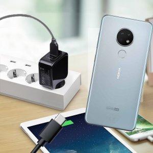 Зарядка для Nokia 6.2 телефона 2.4А и USB кабель