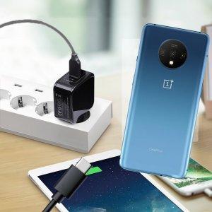 Зарядка для OnePlus 7T телефона 2.4А и USB кабель