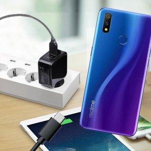 Зарядка для Realme 3 Pro телефона 2.4А и USB кабель
