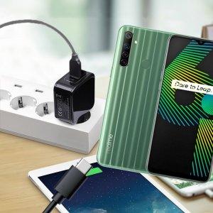 Зарядка для Realme 6i телефона 2.4А и USB кабель