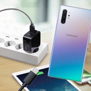 Зарядка для Samsung Galaxy Note 10 Plus / 10+ телефона 2.4А и USB кабель