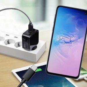 Зарядка для Samsung Galaxy S10e телефона 2.4А и USB кабель