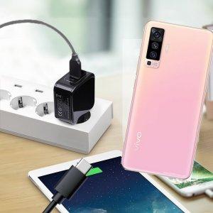 Зарядка для vivo X50 телефона 2.4А и USB кабель