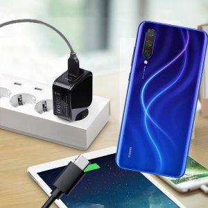 Зарядка для Xiaomi Mi 9 lite телефона 2.4А и USB кабель