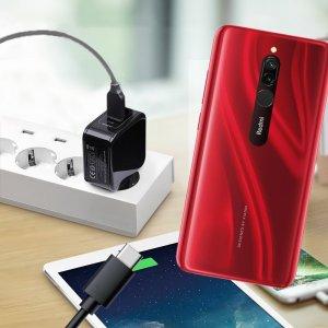 Зарядка для Xiaomi Redmi 8 телефона 2.4А и USB кабель