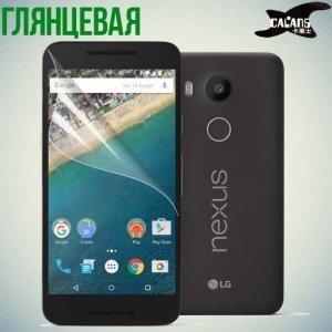 Защитная пленка для LG Nexus 5X - Глянцевая