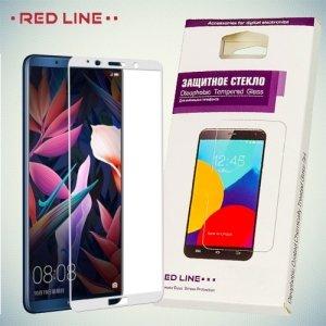 Защитное стекло для Huawei P Smart - Белое Red Line