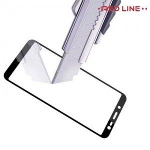 Защитное стекло для Samsung Galaxy J6 2018 SM-J600F - Черный Red Line