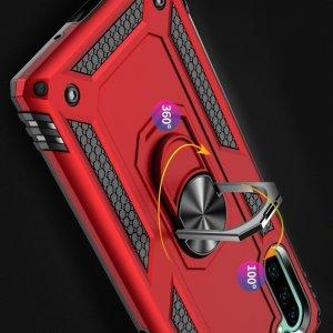 Защитный чехол с поворотной подставкой для Samsung Galaxy Note 10 - Черный