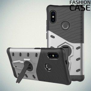Защитный чехол с поворотной подставкой для Xiaomi Mi 6X / Mi A2 - Серый